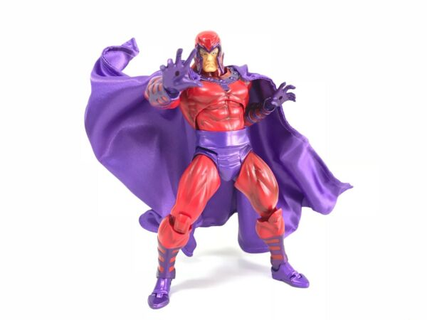 KC-MG-C: Wired Cape for Marvel Amazing Yamaguchi Revoltech Magneto (No Figure)