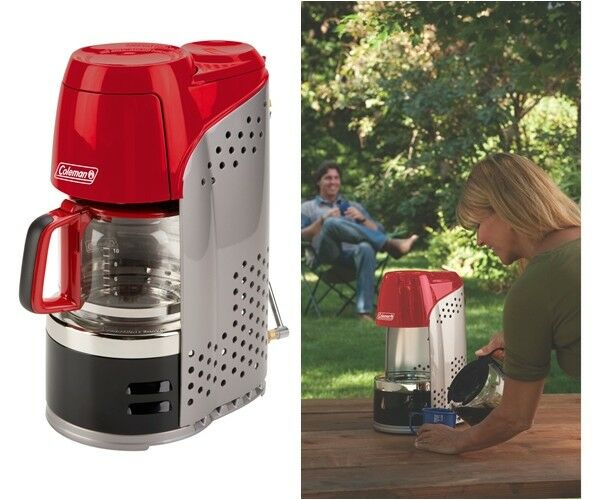 Camping Coffee Maker Pot Portable Outdoor Hiking Coffeemaker 10 Cups Coleman NEW