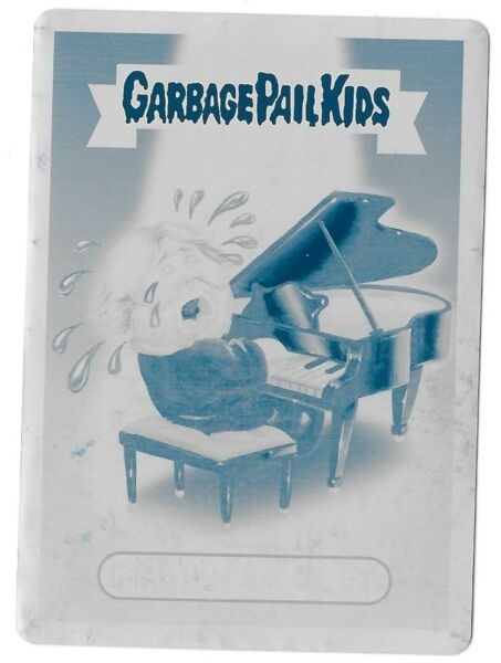 Topps 2017 Garbage Pail Kids MOURNFUL MICHAEL Cyan PRINTING PLATE Card GPK 1of-1