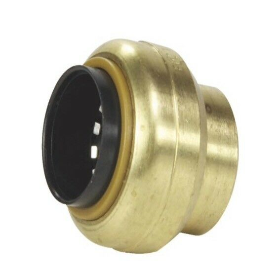 """Shark Bite Style 3 4"""" End Caps For 3 4"""" Copper CPVC And Pex By McDonald Mfg. Co. $6.99"""
