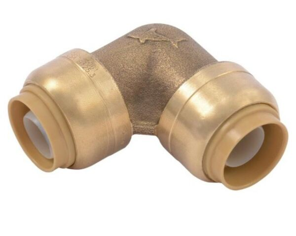 """1 2""""X1 2"""" Shark Bite Style Ell Connector For CPVC PEX And Copper Pipe $6.75"""