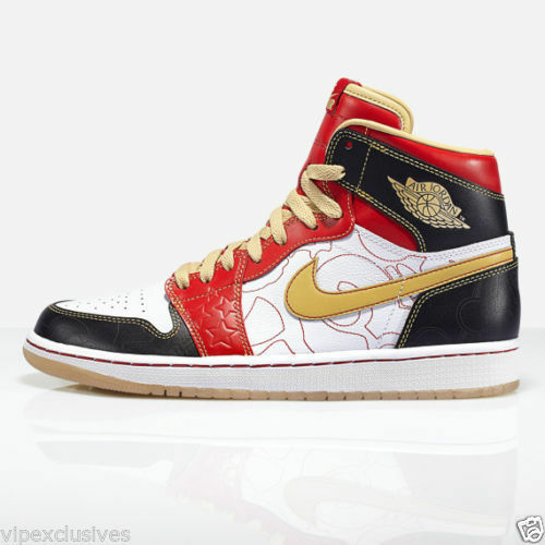 "NIKE AIR JORDAN 1 RETRO XQ ""IGNITE SHANGHAI"" 555088-040 PLUS EXCLUSIVE T-SHIRT"