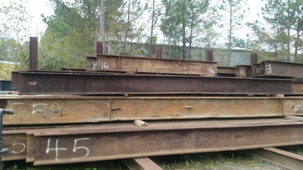 Construction Materials - Structural Steel Beams Various Lengths W Shapes