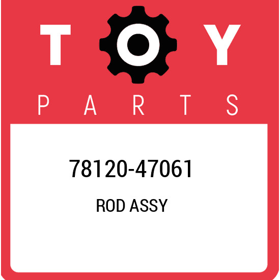78120-47061 Toyota Rod assy 7812047061 New Genuine OEM Part