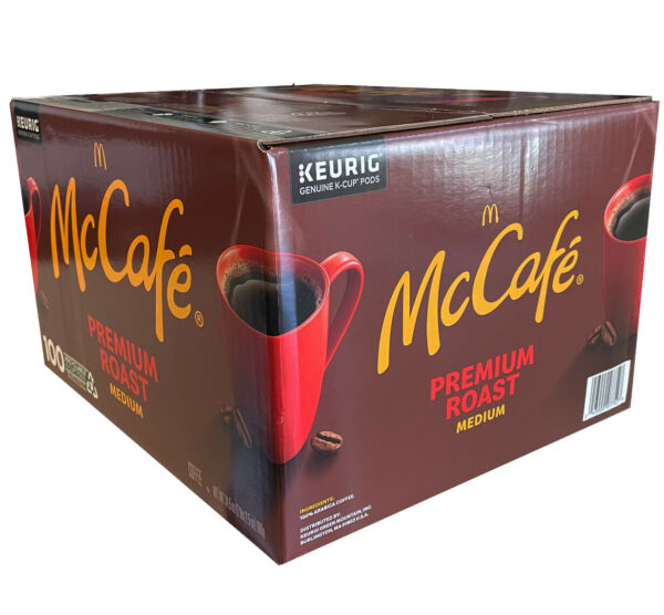 McCafe French Roast Medium Coffee (100 K-Cups) Keurig hot k200 k50 k55 k350