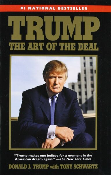 Trump: The Art of the Deal by Donald Trump (New Papaerback Book)