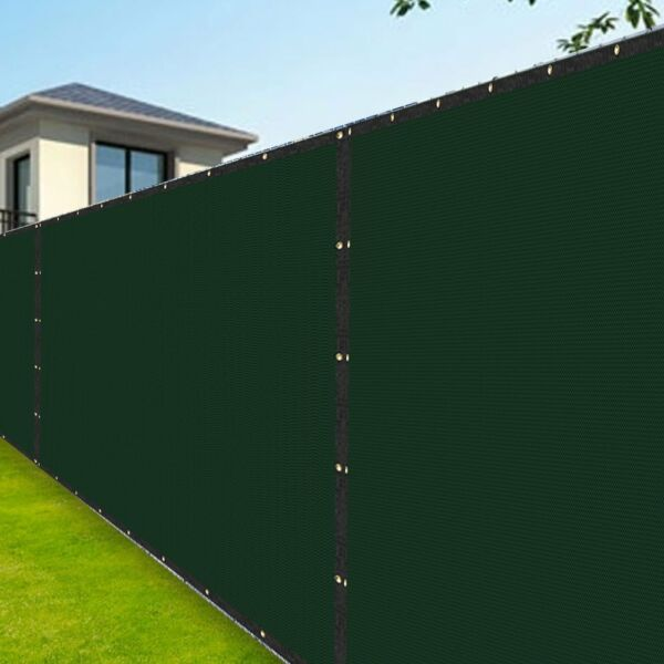 Amagabeli Heavy Duty Fence Privacy Screen 8x50 for Chain Link Fence Fabric with