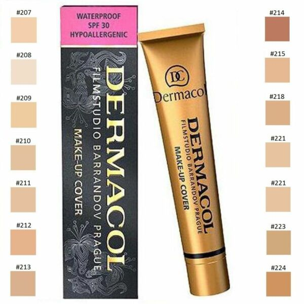 Original Dermacol Make Up Cover 211 Concealer Grundierung stark deckend NEU!