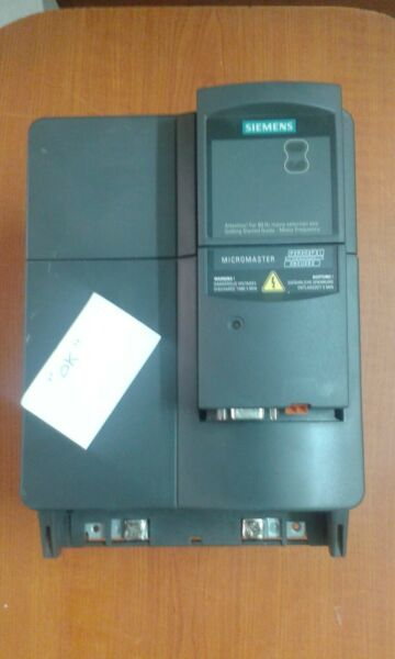 Siemens Micro Master 420  frequency inverter 7.5 Kw. with Profi-Bus - Used