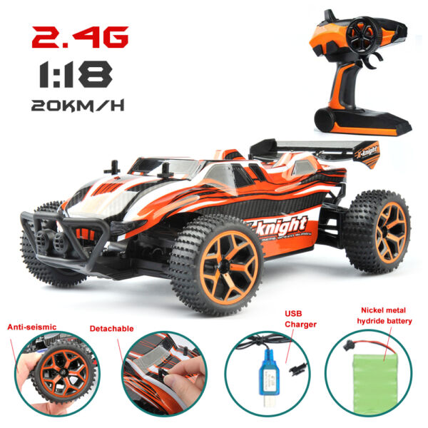1/18 High Speed RC Racing Car 4WD Remote Control Truck Off-Road Buggy SUV Models