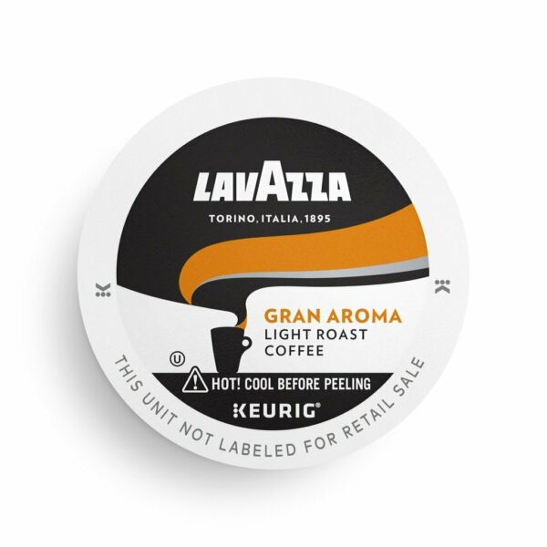 Lavazza Gran Aroma Coffee 22 to 88 Keurig K cups Pick Any Size FREE SHIPPING