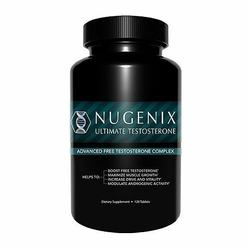 Nugenix Ultimate Testosterone  Booster 120 Tablets  Free Shipping