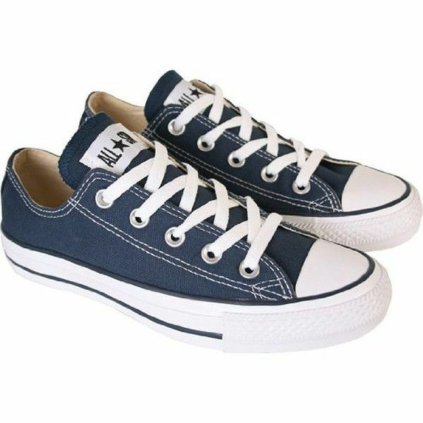 Converse All Star Chuck Taylor Canvas Shoes Low Top Brand New NAVY