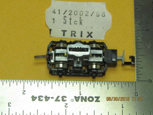 41200296 TRIX POWER TRUCK WGEAR & PIN N SCALE FACTORY ORIGINAL PARTS