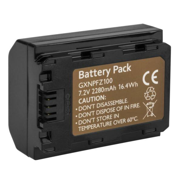 Green Extreme NP-FZ100 Rechargeable Lithium-Ion Battery (7.2V 2280) #GX-NP-FZ100