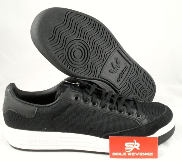 11 New Adidas Originals 70's ROD LAVER Shoes Core Black White Stan Smith C77375