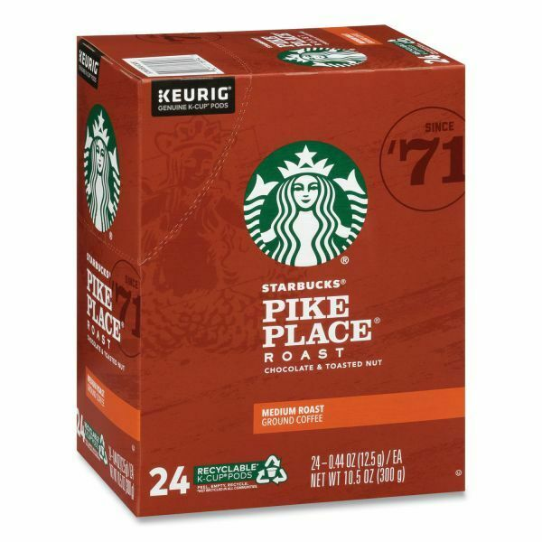 Starbucks Pike Place Coffee 24 to 96 Keurig K cups Pick Any Size FREE SHIPPING