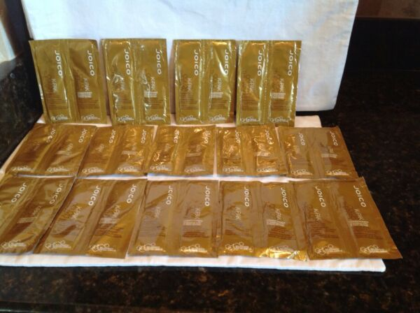 Joico K Pack Therapy Shampoo Conditioner .34 oz 14 Sample Packs Rare
