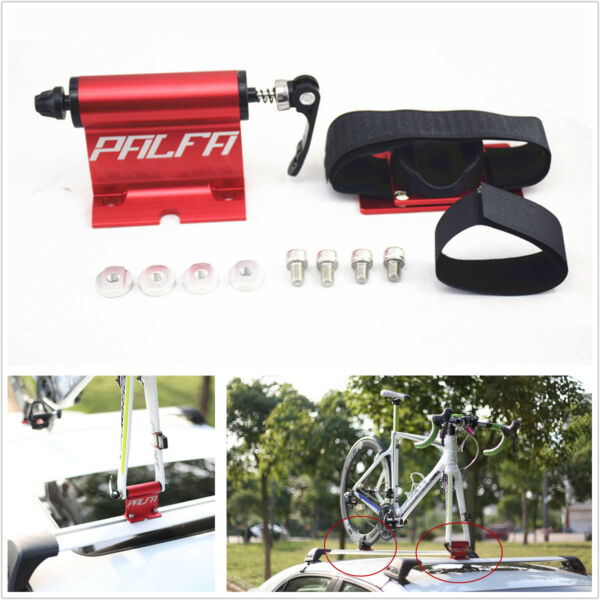 Universal Alloy Car Roof Bike Bicycle Mount Carrier Rack Quick release Fork Lock $60.20