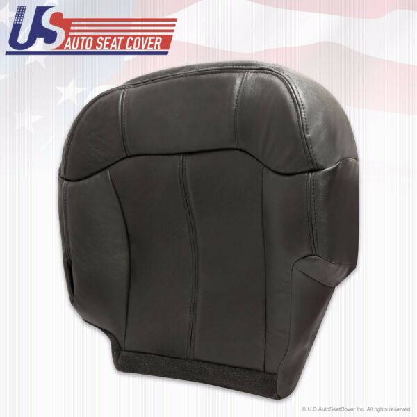 Chevy Silverado Driver Bottom Replacement Seat Cover Black 1999 2000 2001 2002