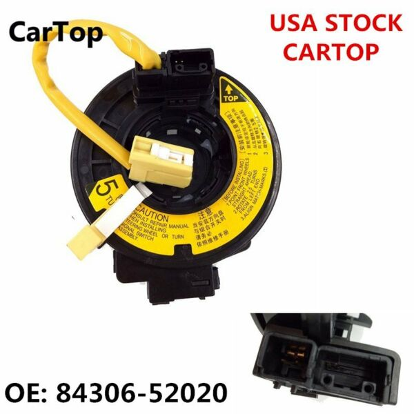 84306-52020 Spring Clock Spring Fit For TOYOTA Clock Echo MR2 2000-2006 US STOCK