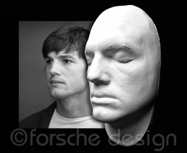 Ashton Kutcher Life Mask That 70's Show Two and a Half Men Dude Where's My Car?