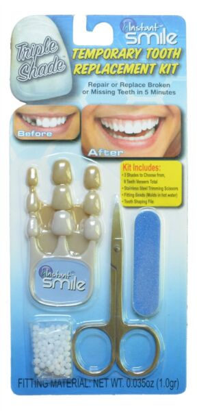 Select A Tooth Temporary Tooth 3 Shade Replacement Kit $9.95