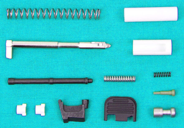 10mm Premium Upper Parts Kit w Upgrades for Glock 20 Gen3 and P80 PF45