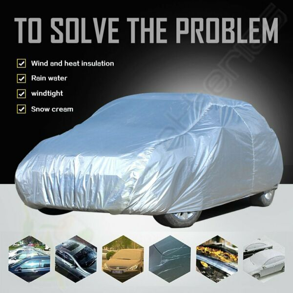 Portable Car Cover Waterproof SnowRain Reasistant Covers For Audi Acura Dodge