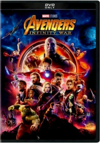Avengers: Infinity War (DVD,2018) NEW* Action, Adventure* PRE-ORDER SHIPS 08/14