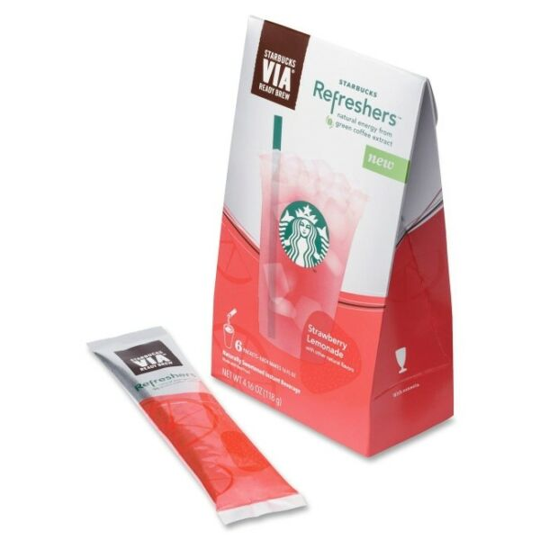 Starbucks Via Refreshers Drink Mix - Strawberry Lemonade - 16 Fl (sbk11023671)