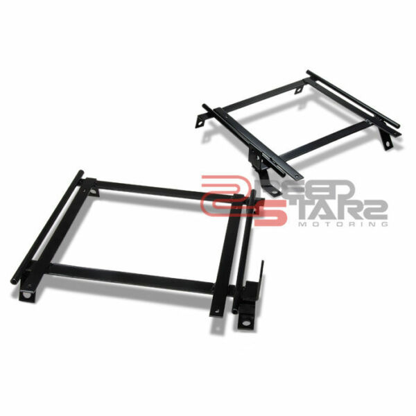 INTEGRA RSX DC5 BUCKET RACING SEAT BASE MOUNT BRACKETS ADAPTER DRIVERPASSENGER $73.98