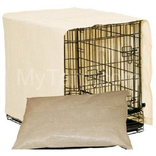 Coolaroo Dog Crate Cover Dog Pillow Combo Size S X XX Free Shipping $24.99