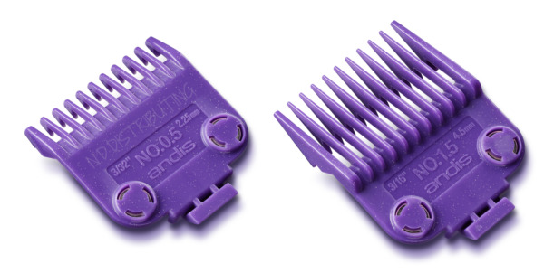 Andis #01420 Double Magnetic Nano Combs #12 & 1 12 Barber Clipper Guard 2 PACK