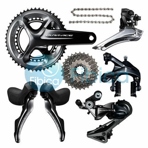 New Shimano Dura Ace R9100 Full Groupset Group set 11-2528T 5034 5339