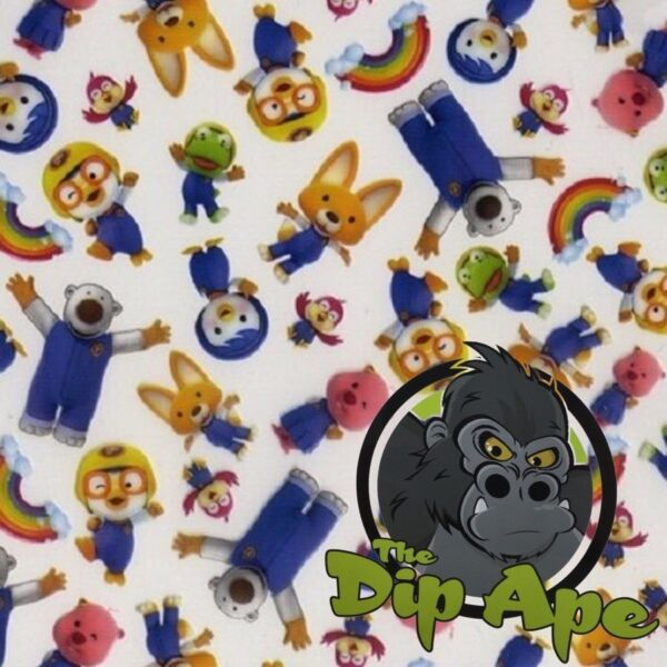 CARTOON FRIENDS HYDROGRAPHIC WATER TRANSFER HYDRO FILM DIP APE
