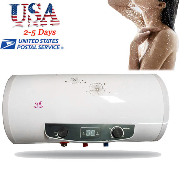【FAST】Electric Hot Water Heater Tank Faucet Fast Heating Tap Shower Bathroom FDA