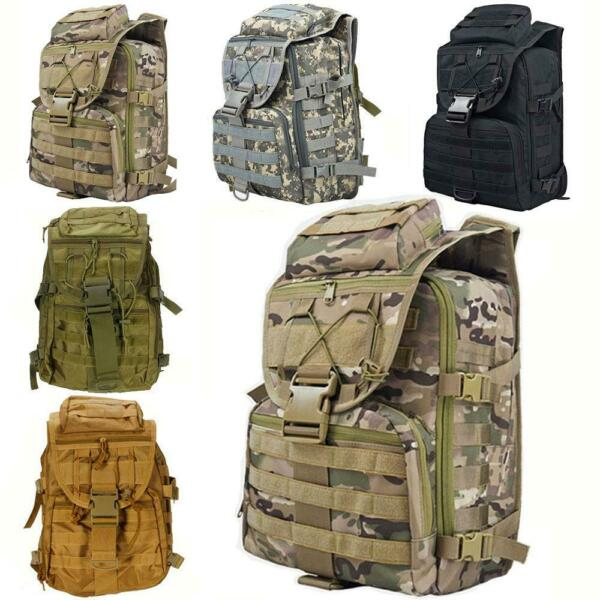 35L Military Tactical Marching Backpack Outdoor Water Resistant Hiking Rucksack