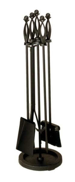Achla Minuteman Black 4 - Fireplace Tool Set X850310