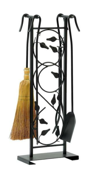 Achla Minuteman Leaves Fireplace Toolset WR-37