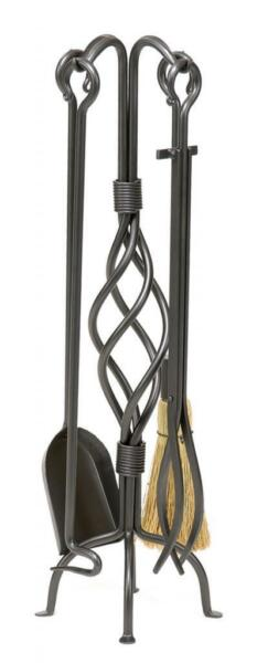 Achla Minuteman Helix Fireplace Tool Set WR-30