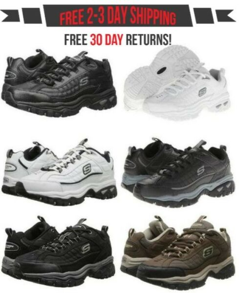 Skechers Energy Afterburn & Downforce Men Casual Sneaker Athletic Shoe 6 Colors