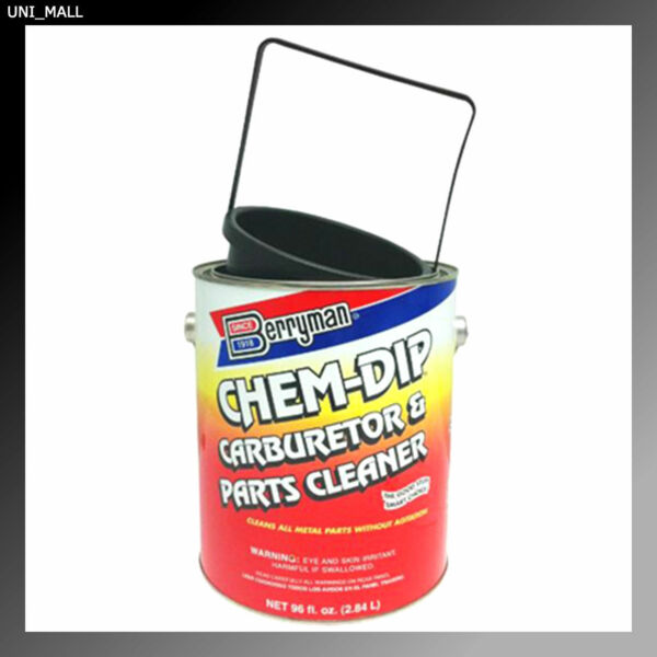 Berryman New 0996 Chem Dip Carburetor and Parts Cleaner 96 oz. Can with Basket $39.99