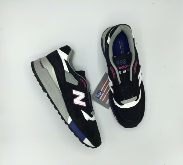 SALE NEW BALANCE 998 M998 M998BK MADE IN USA Size 7-11.5 BRAND NEW