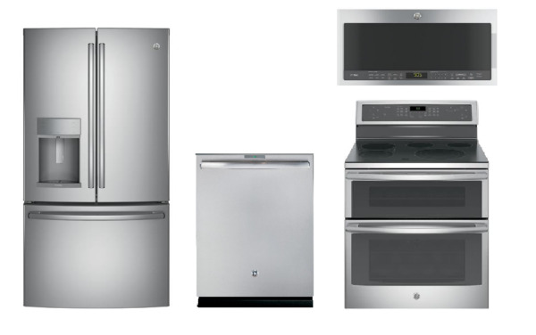 GE Profile Stainless Kitchen Package