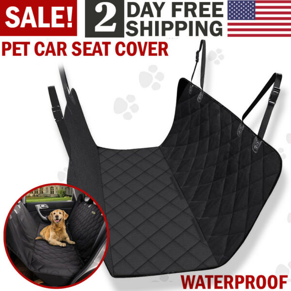 Pet Car Seat Cover Back Rear Bench Mat Pad Waterproof Hammock Car Dog Seat Cover