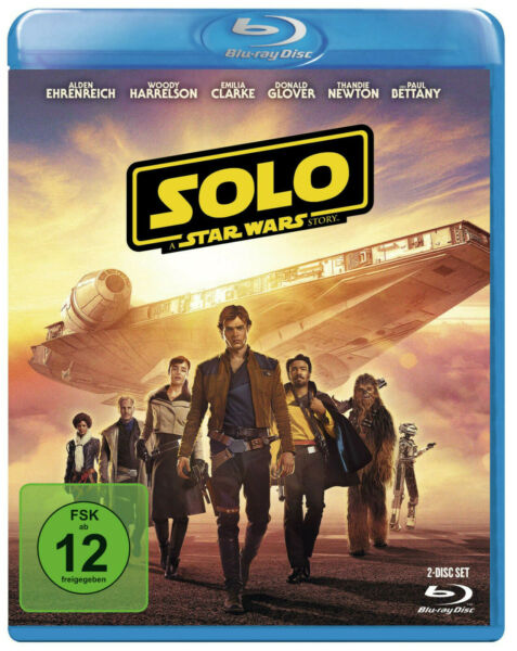 Solo: A Star Wars Story - (Blu-ray)
