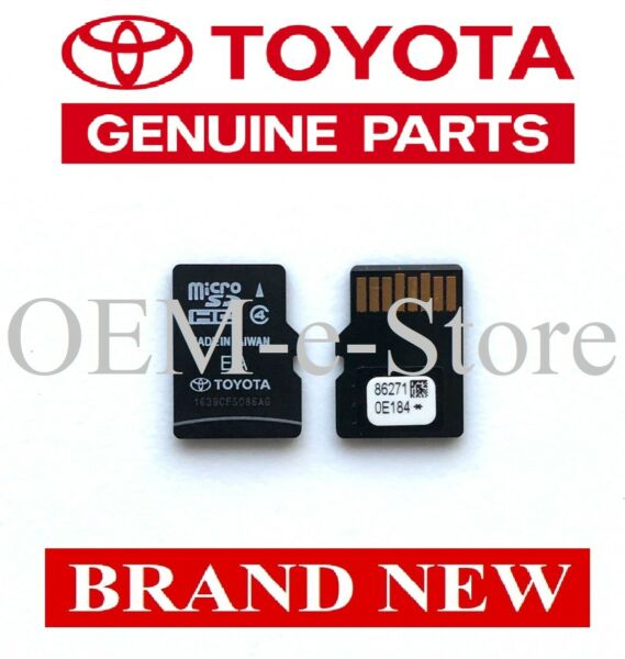 2014-2018 Toyota Corolla Highlander RAV4 Navigation Micro SD Card U.S Canada Map