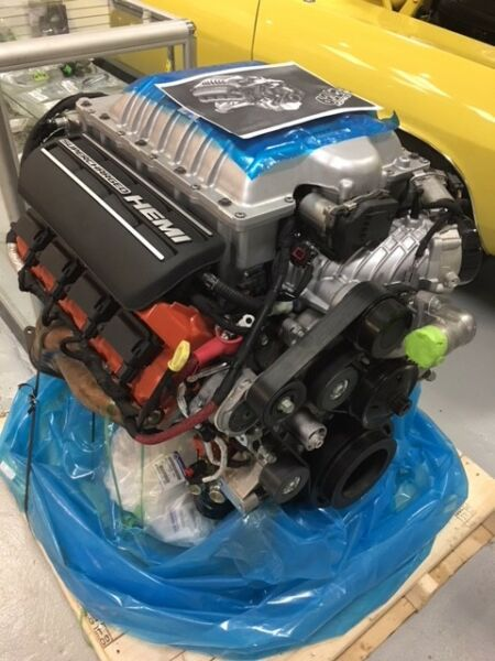 6.2 HELLCAT Crate engine Mopar Restomod Hotrod Dodge Plymouth 68303089AA
