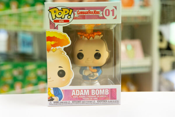 Funko Pop Garbage Pail Kids GPK Adam Bomb #01 Figure  IN STOCK  FAST SHIPPING!